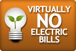 no electric bills